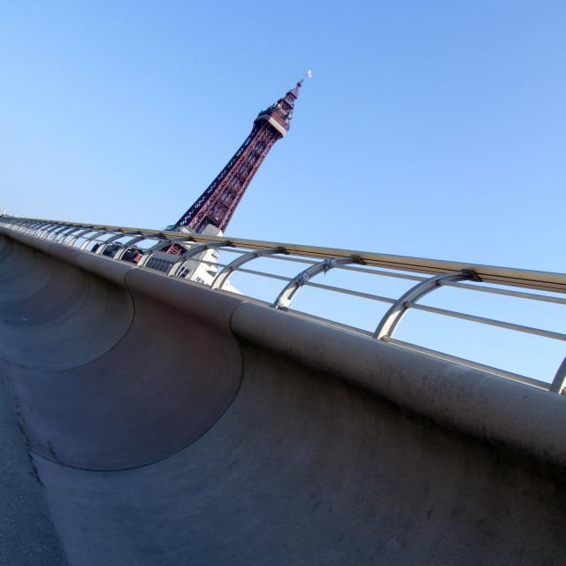 """Blackpool Tower"" stock image"