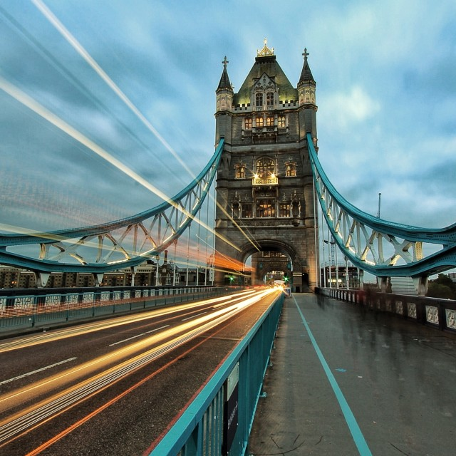 """Tower Bridge, London"" stock image"