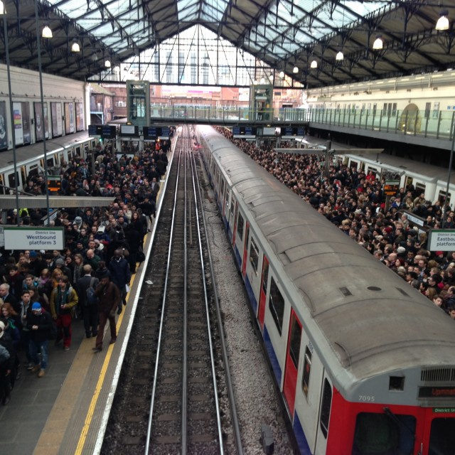 """Tube strike"" stock image"
