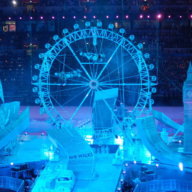"""London 2012"" stock image"