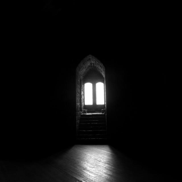 """""""Light in the dark"""" stock image"""