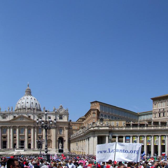 """Vatican Panoramic"" stock image"