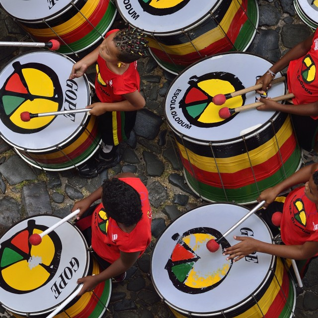 """Olodum band"" stock image"