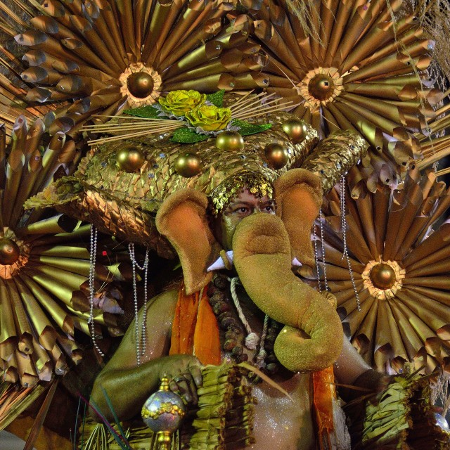 """Salvador Carnival costume"" stock image"