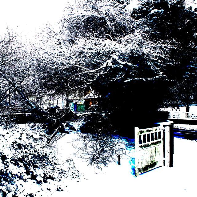 """""""snow way"""" stock image"""