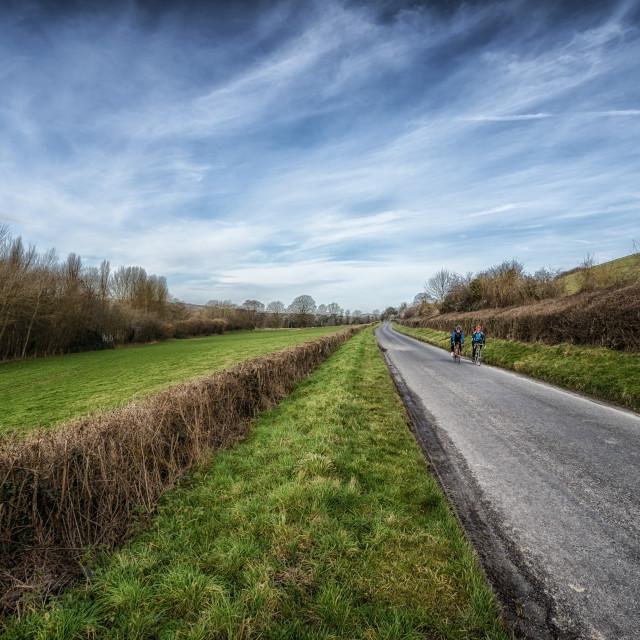 """Country Bike Ride"" stock image"