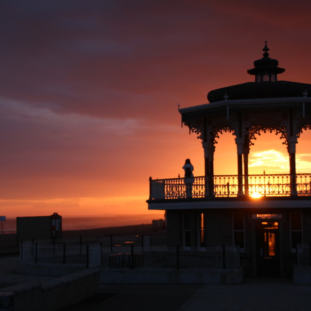 """Brighton Bandstand"" stock image"