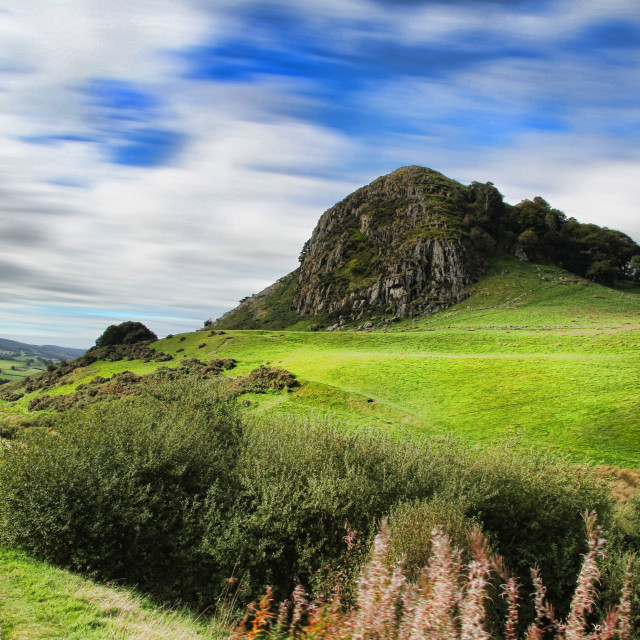 """Loudon Hill"" stock image"