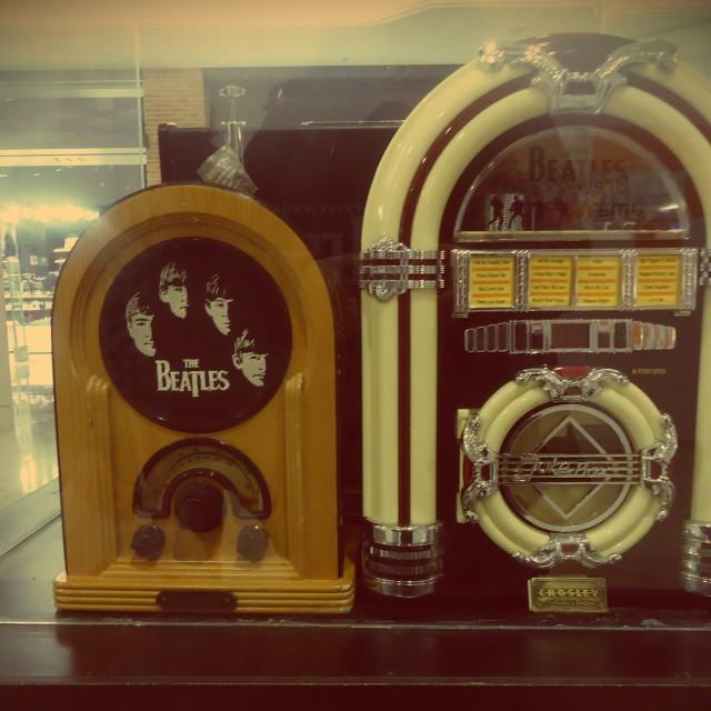 """Jukebox Beatles"" stock image"