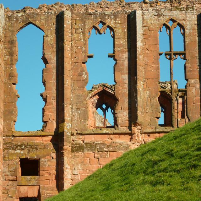 """""""Kennilworth Castle Ruins, UK"""" stock image"""