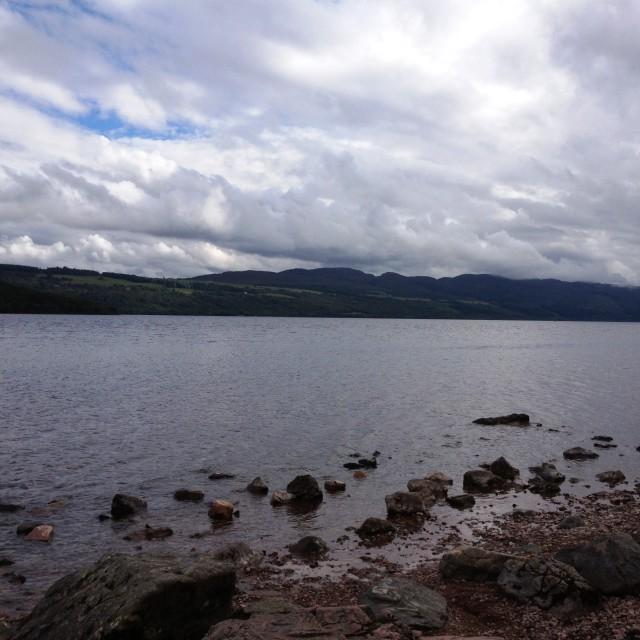 """Loch Ness 2"" stock image"