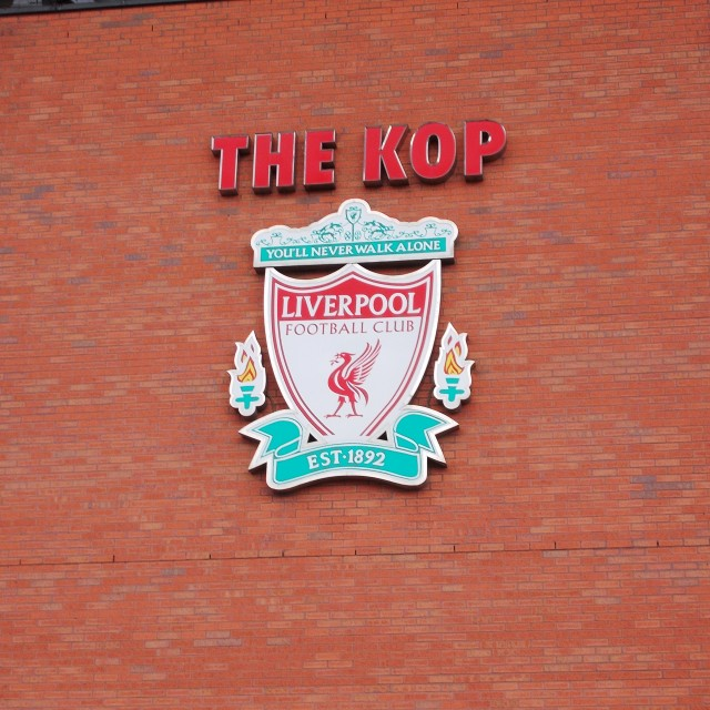 """The Kop"" stock image"