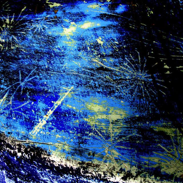 """Starry starry night"" stock image"