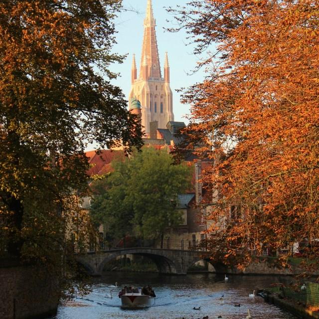 """In Bruges"" stock image"
