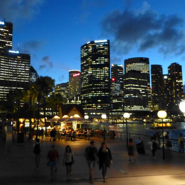 """Circular Quay, Sydney,Australia"" stock image"