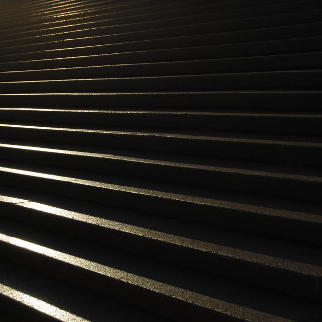 """Sydney Opera Steps"" stock image"
