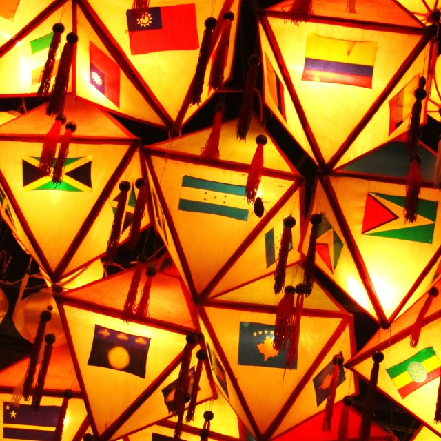 """Lanterns, Hoi An"" stock image"