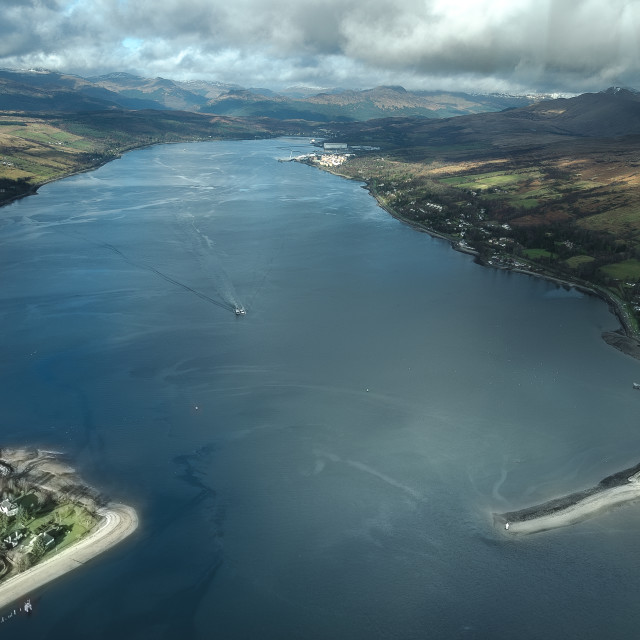 """""""Gare Loch Scotland"""" stock image"""
