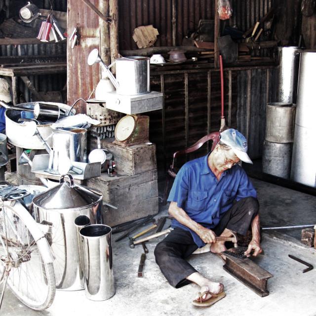 """""""Metalworker"""" stock image"""