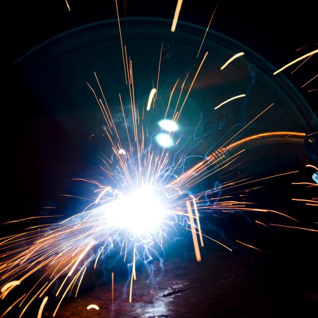 """Welding Work"" stock image"
