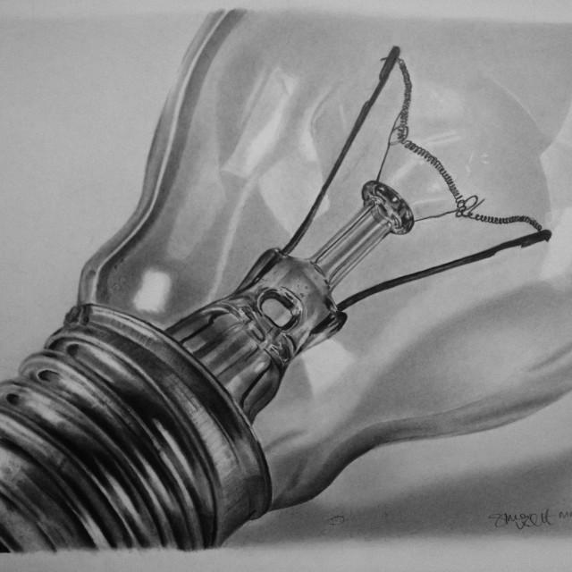 """""""Lightbulb"""" stock image"""