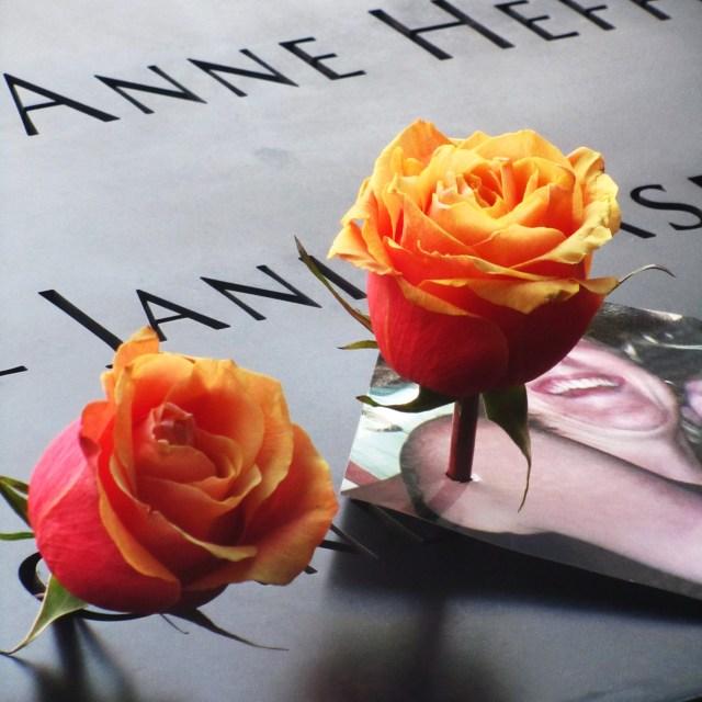 """World Trade Center Memorial"" stock image"