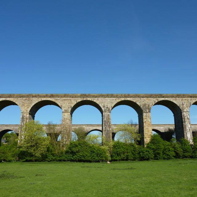 """""""Aqueduct"""" stock image"""