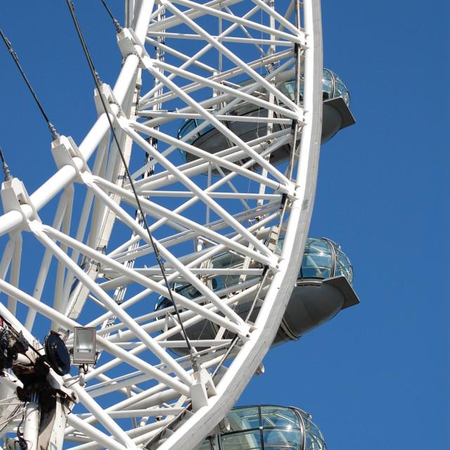"""London Eye pods"" stock image"