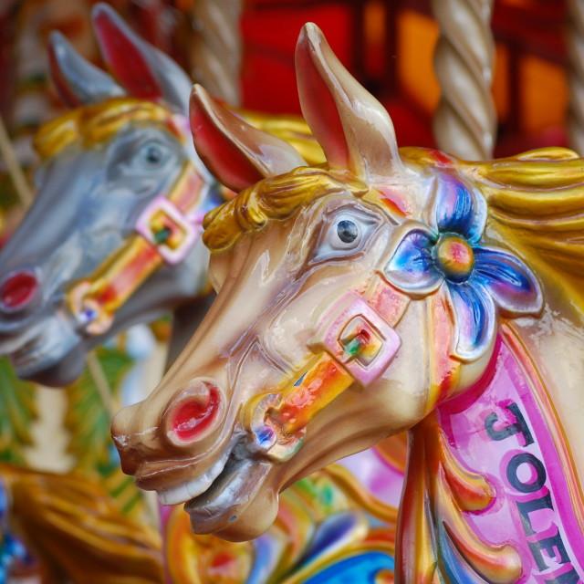 """Fairground ride - London"" stock image"
