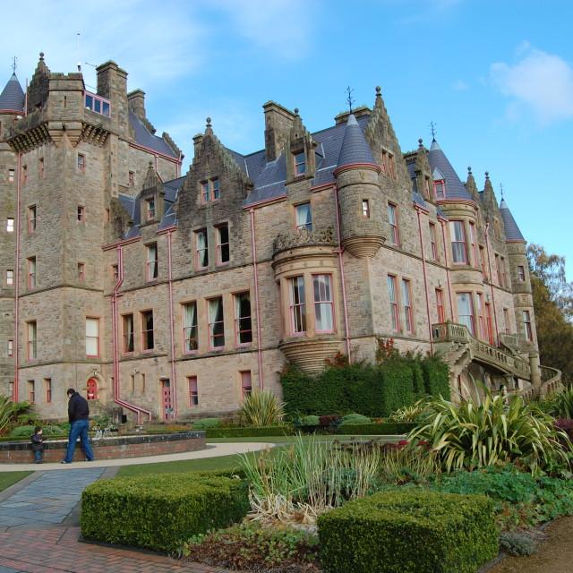 """""""Belfast Castle - Belfast, Ireland"""" stock image"""