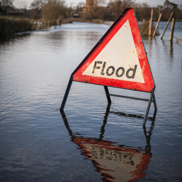 """Flood!!"" stock image"