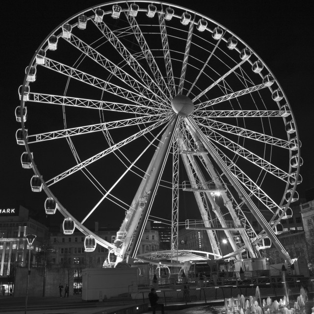 """Manchester Wheel"" stock image"