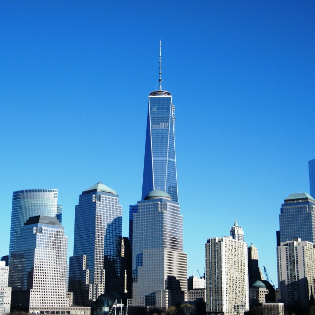 """The World Trade Center"" stock image"