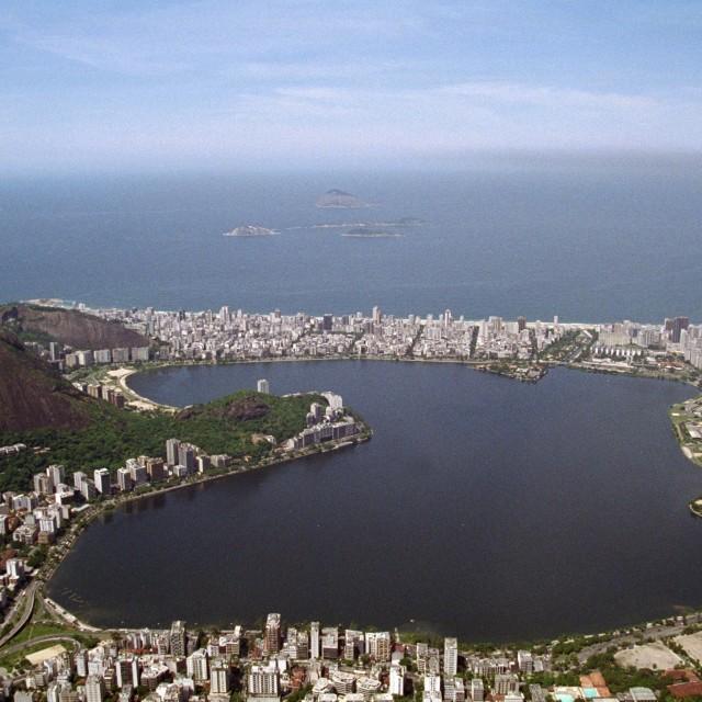 """""""Rio Lagoa"""" stock image"""
