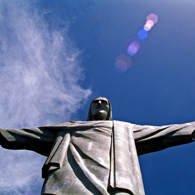 """Christ the Redeemer"" stock image"