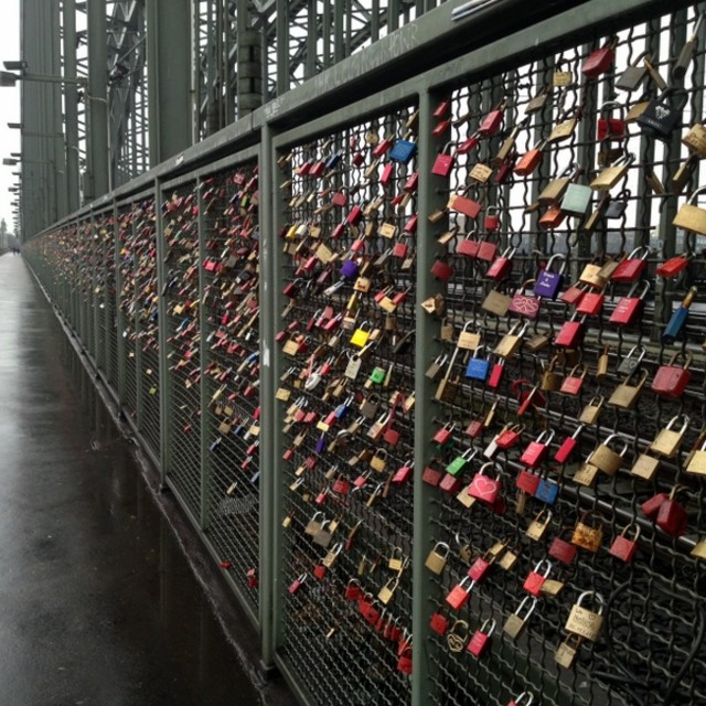"""Lovelock Bridge"" stock image"