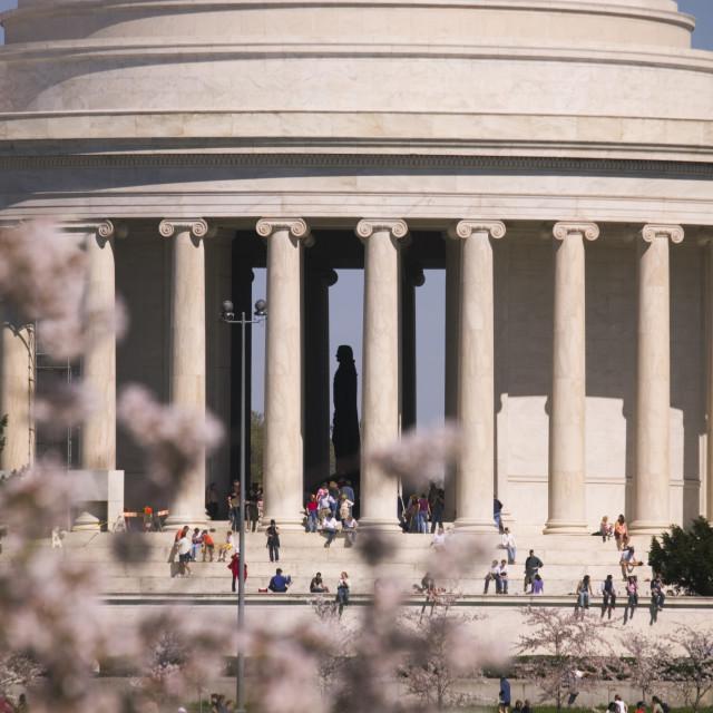 """""""Thomas Jefferson Memorial"""" stock image"""