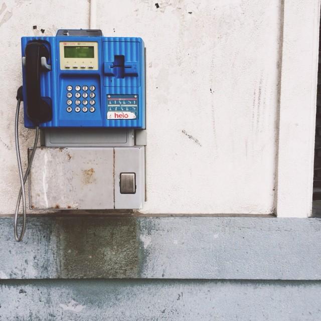 """Payphone"" stock image"