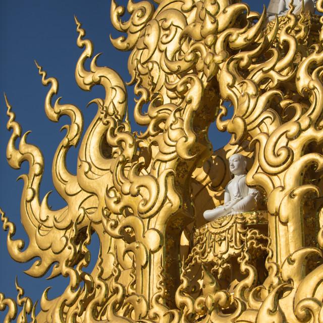 """Art of Thai Painting"" stock image"