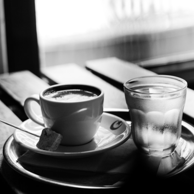 """""""Coffee in Kadıköy"""" stock image"""