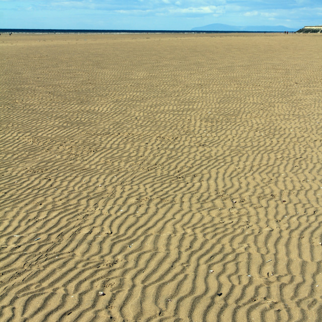 """Sand ripples"" stock image"