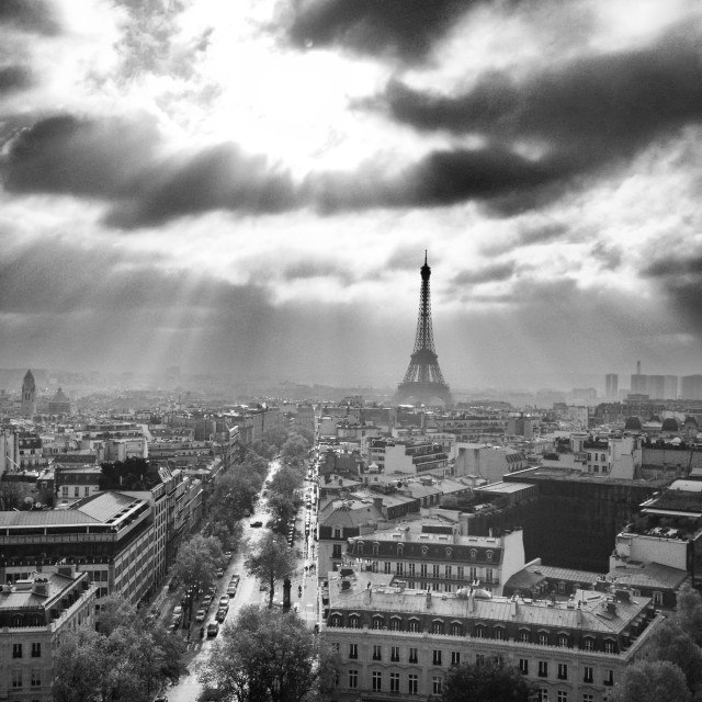 """Paris From Above"" stock image"