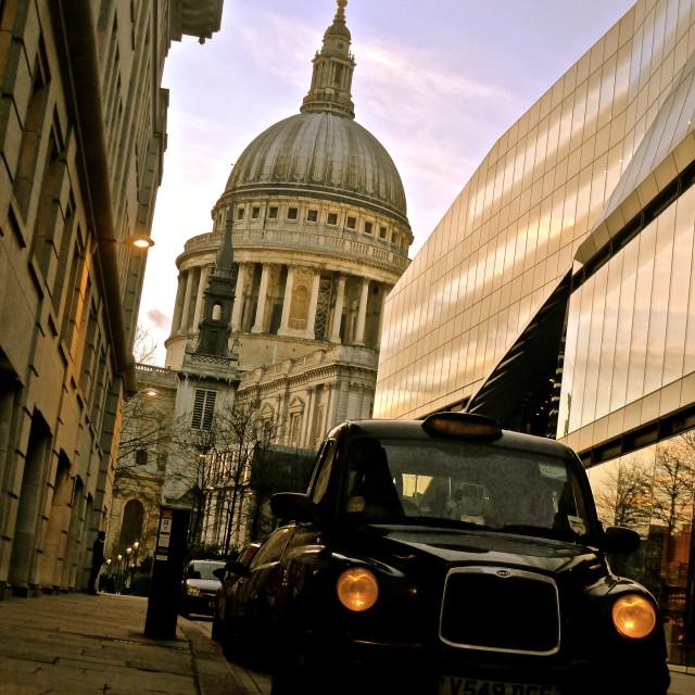 """St. Pauls, London"" stock image"