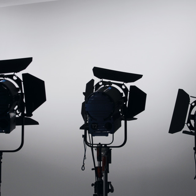 """Photography studio lights"" stock image"
