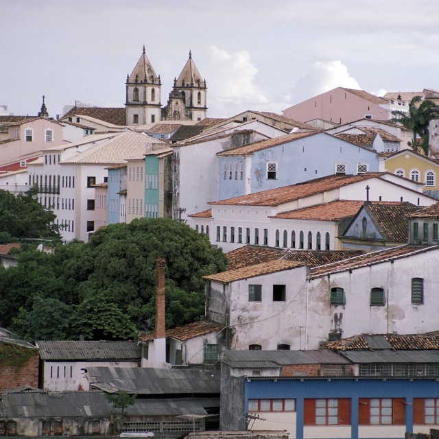"""Skyline Salvador"" stock image"