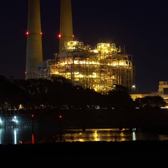 """Power Plant."" stock image"