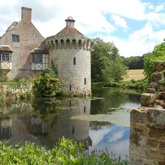 """Scotney Castle, Kent"" stock image"
