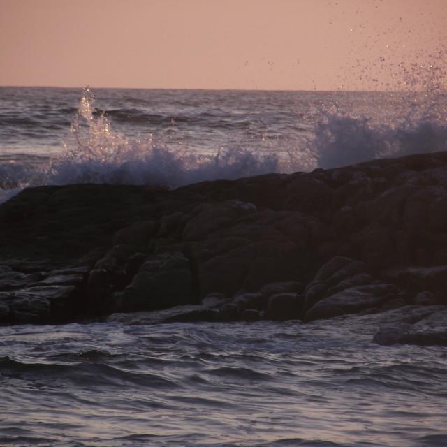 """""""Irish Sunset"""" stock image"""