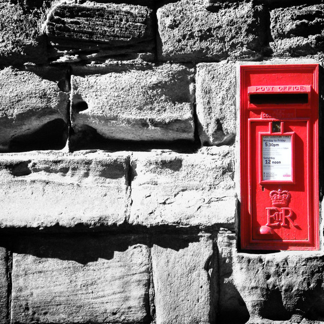 """The LetterBox"" stock image"