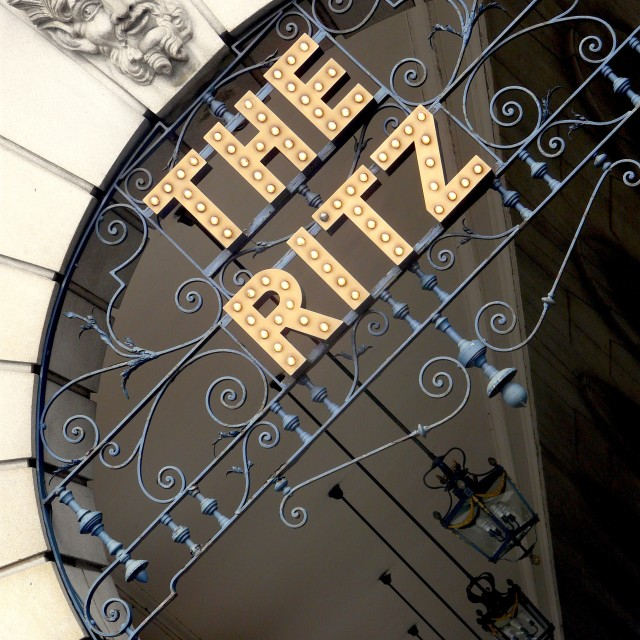 """""""The Ritz"""" stock image"""